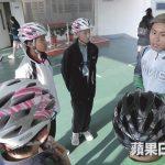 Fasi有时会以特聘教练身份到校园教导正确单车技术。