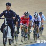 曾经在国际级室内单车赛出任领航员,顶级好手都要跟在他之后。