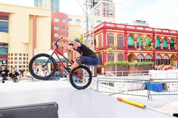 澳門花式單車表演